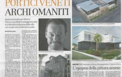 Giornale di Vicenza Architetto Stocco Alberto Studio67