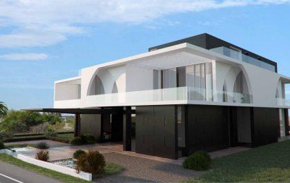 Vista dx  Villa Muscat