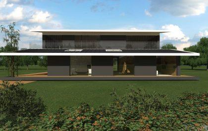 6 SEAGULL WING HOUSE STUDIO67 VICENZA ARCHITETTURA%DESIGN ARCHITETTO ARCHITETTI