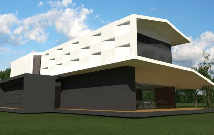 8 SEAGULL WING HOUSE STUDIO67 VICENZA ARCHITETTURA%DESIGN ARCHITETTO ARCHITETTI