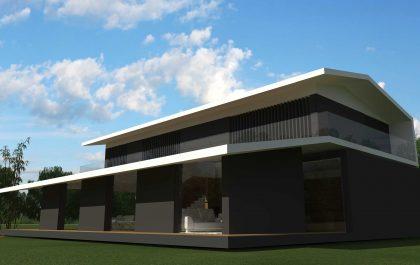2 SEAGULL WING HOUSE STUDIO67 VICENZA ARCHITETTURA%DESIGN ARCHITETTO ARCHITETTI