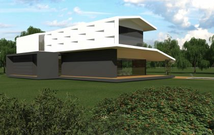4 SEAGULL WING HOUSE STUDIO67 VICENZA ARCHITETTURA%DESIGN ARCHITETTO ARCHITETTI