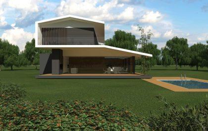 5 SEAGULL WING HOUSE STUDIO67 VICENZA ARCHITETTURA%DESIGN ARCHITETTO ARCHITETTI
